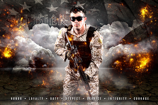 Heroes V3 American Soldier H X