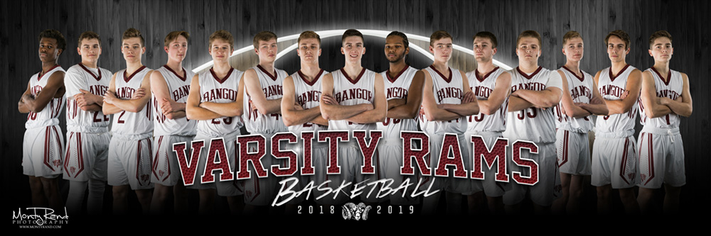boys basketball 12x36
