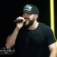 Concert photo Sam Hunt 1707